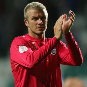David Beckham England Football Team