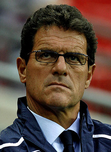 Fabio Capello England Team