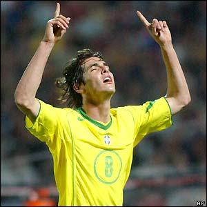 Ricardo Kaka Brazil Football
