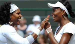 Senera and Venus Williams Wimbledon 2009