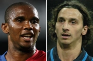 The reunion of the attackers and all eyes will be on Eto and Ibrahimovic at San Siro.