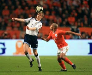Scotland will have to beat the Oranje team in search for the play off spot to qualify for the World Cup in South Africa 2010.