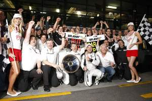 Could Brawn be celebrating their first ever win in both Driver and Constructor World Championship this weekend?