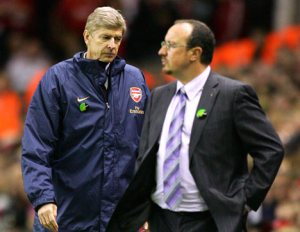 Another clash between Wenger and Benitez in the League Cup and only one will go through.