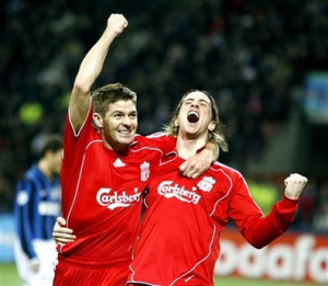Liverpool needs both Gerrard and Torres to come out all guns blazing if they want to qualify for last 16.