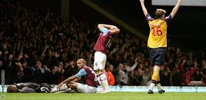 Arsenal beat West Ham at Upton Park 2-0 last time they met.